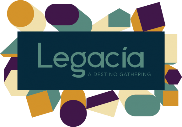 Legacia Logo with Shapes